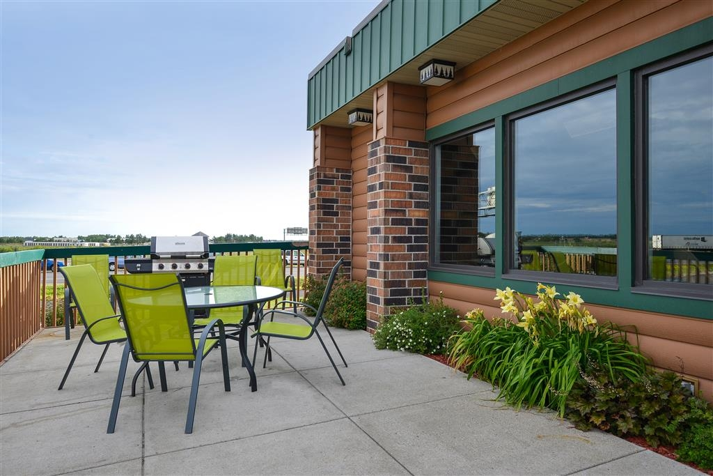 Best Western Bemidji - Patio para barbacoas