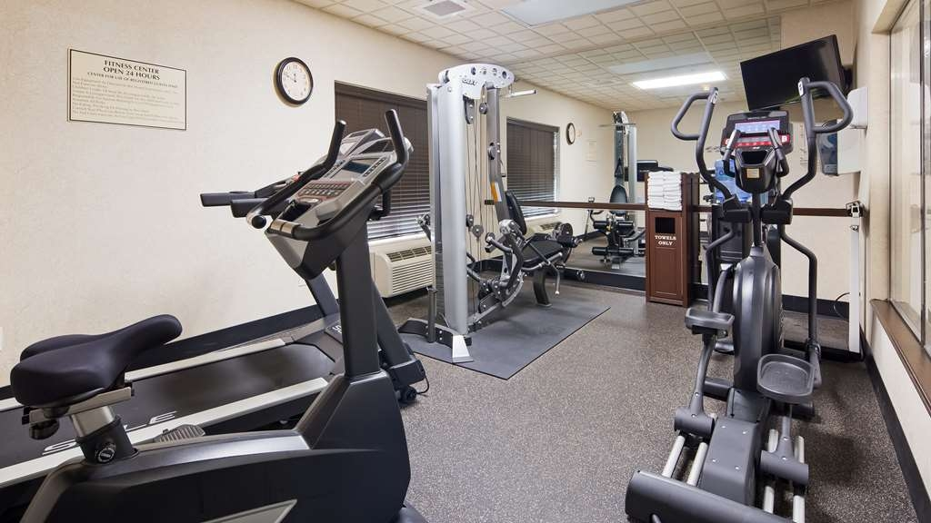 Best Western Regency Plaza Hotel - St. Paul East - Fitnessstudio