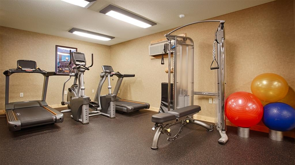 Best Western Premier The Lodge on Lake Detroit - fitnessraum
