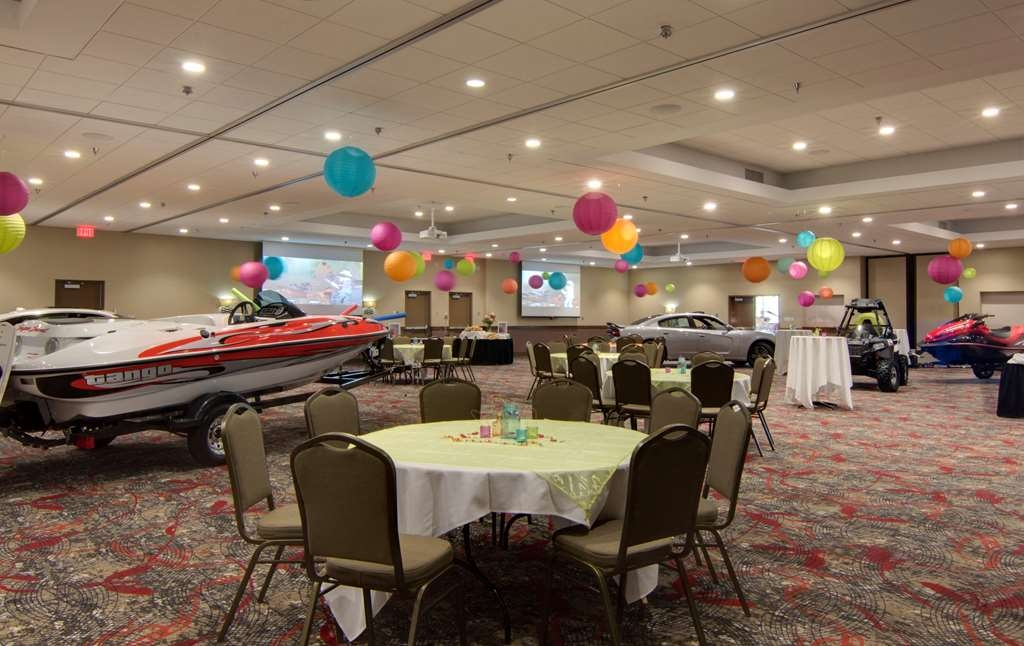 Best Western Plus Willmar - Need space for a product showcase? Our meeting facilities can accommodate your requests!