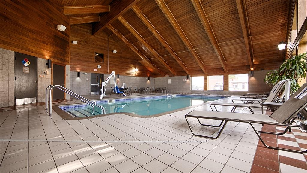Best Western Plus Minneapolis-Northwest - Jump into the largest indoor pool in town and make a reservation at our Best Western PLUS hotel.