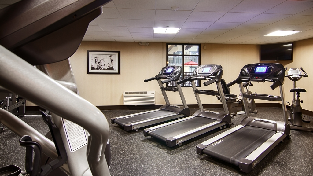 Best Western Plus New Ulm - fitnessraum
