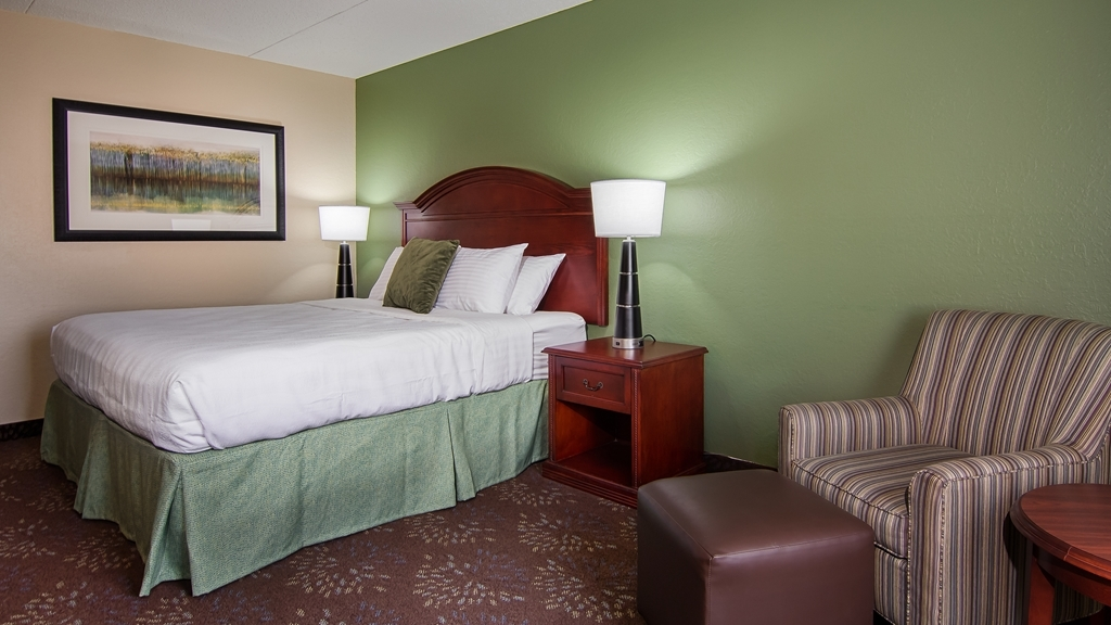 Best Western Plus New Ulm - Sink into our comfortable beds each night and wake up feeling completely refreshed.