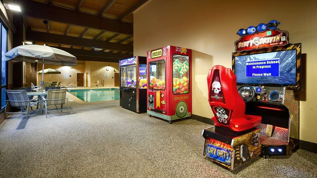 Best Western Plus St. Paul North/Shoreview - Enjoy our arcade room with a array of games.