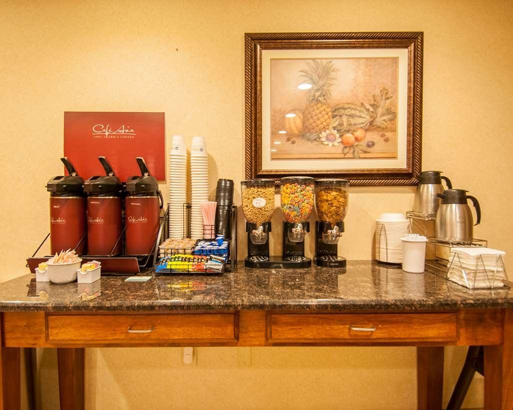 Best Western Vicksburg - Salle de petit déjeuner
