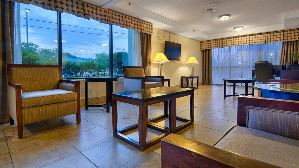 Best Western Plus Cypress Creek - Feel free to check your email in our business center.