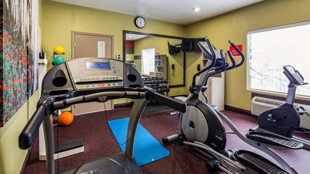 Best Western Plus Jackson Downtown-Coliseum - Fitnessstudio