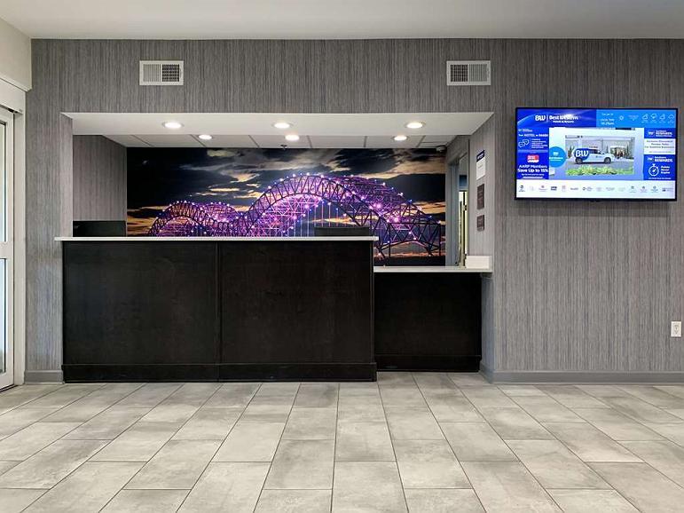 Best Western Plus Olive Branch Hotel & Suites - Vista del vestíbulo