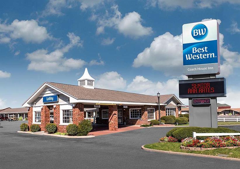 Best Western Coach House - Vista exterior