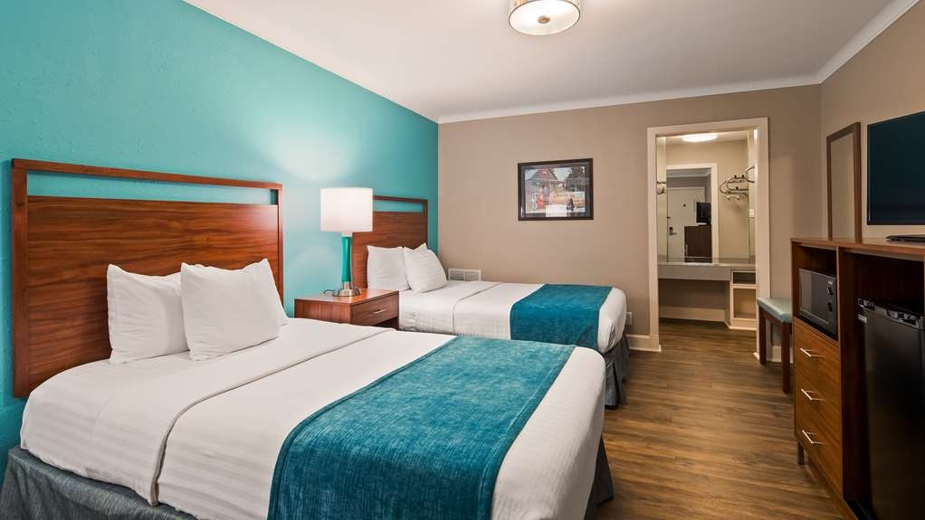 Best Western Route 66 Rail Haven - Make yourself at home in our Standard Double Double room