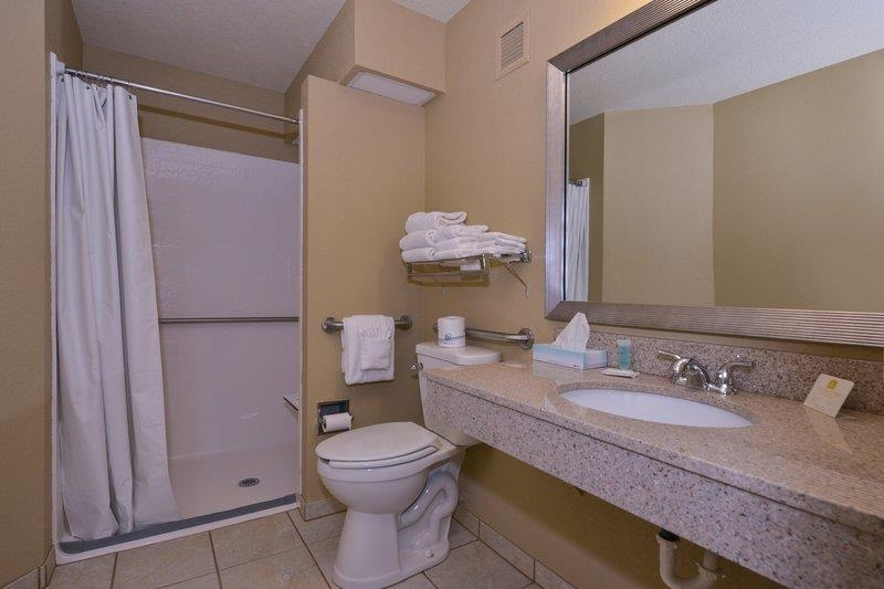 Best Western Branson Inn and Conference Center - For your convenience, we have Mobility Accessible Bathrooms with a Roll-In Shower