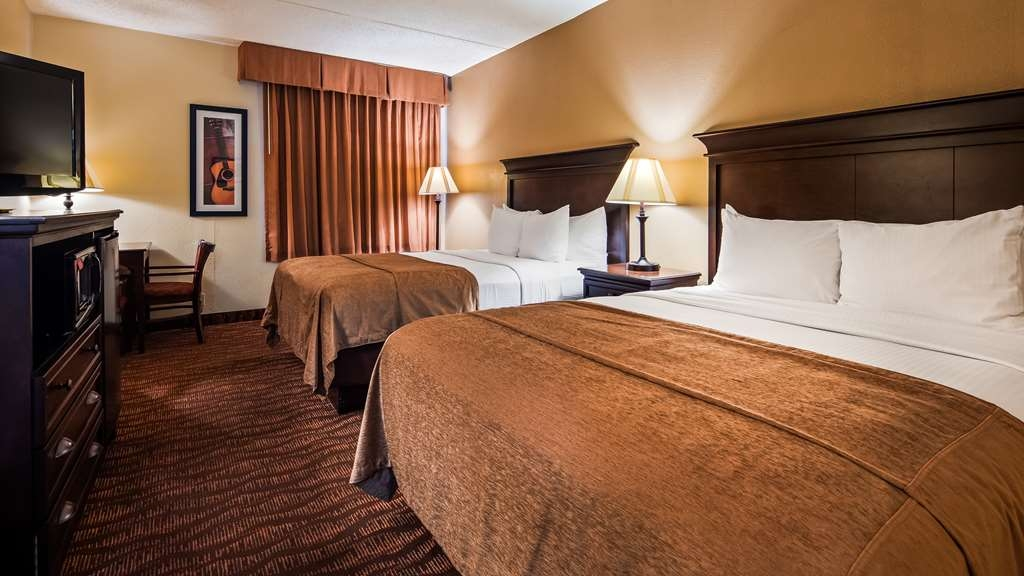 Best Western Music Capital Inn - Make yourself at home in our Guest Rooms