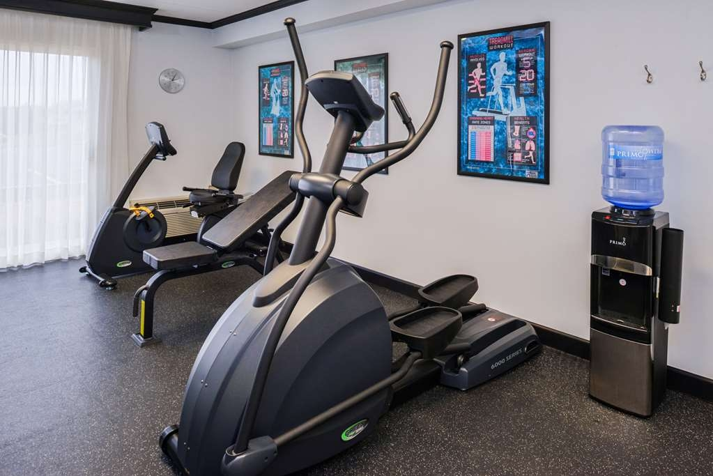 Best Western Kirkwood Inn - Select from our elliptical cross trainer, treadmill or recumbent bike for a healthy workout in our fitness room.