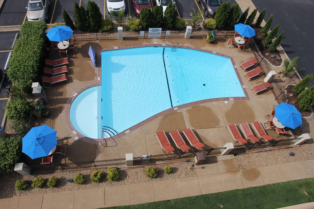 Best Western Kirkwood Inn - Our beautiful and refreshing outdoor heated pool is surrounded by lush landscaping.
