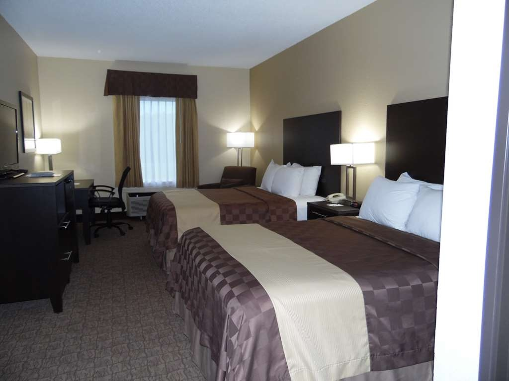 Best Western Teal Lake Inn - 2 Queen Bed with Cable TV, Microwave, Refrigerator, Iron & Coffee Maker