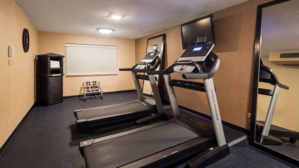 Best Western On the River - Fitnessstudio