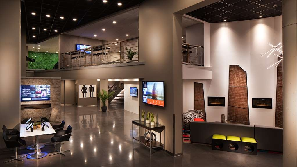 Vib Best Western Springfield - Our hotel lobby offers plenty of divine features including a Zen Zone, gaming pods, cozy fireplace and much more.