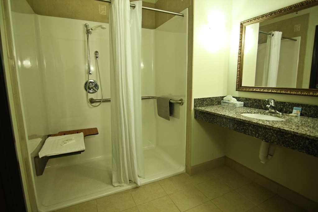 Crown Pointe Lodge, BW Signature Collection - Mobility Accessible Roll-in Shower