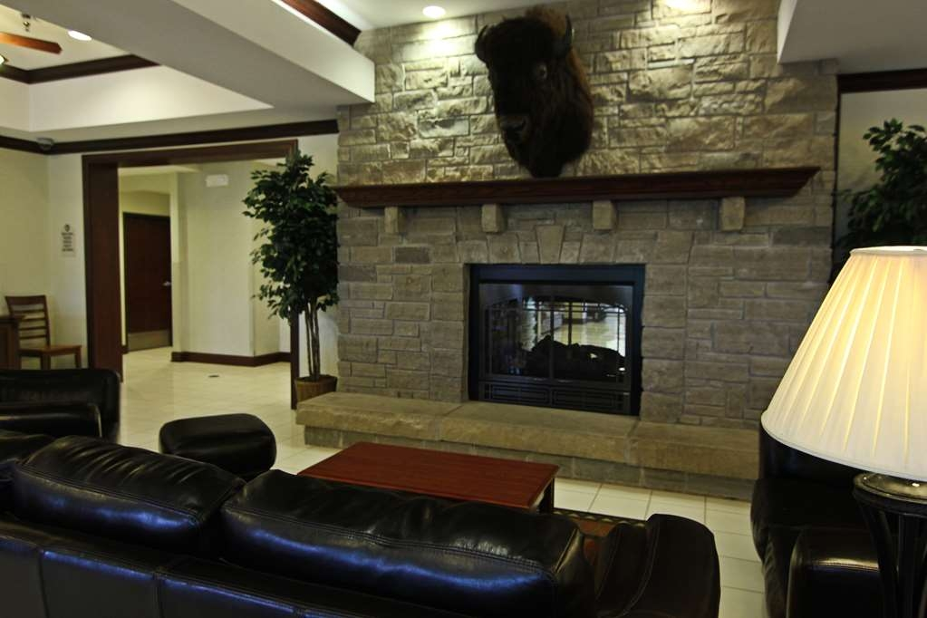 Crown Pointe Lodge, BW Signature Collection - Stay warm and cozy by the fireplace!
