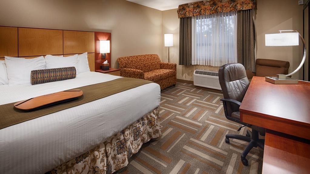 Best Western Plus Clocktower Inn - King Bed Guest Room