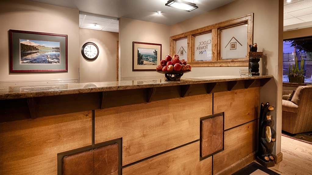 Best Western Plus Clocktower Inn - Front Desk