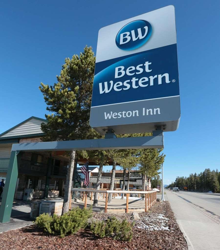 Best Western Weston Inn - Sign