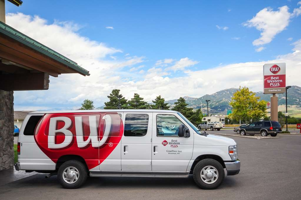 Best Western Plus GranTree Inn - Free transportation and shuttle service to Bozeman's International Airport and anywhere within city limits.