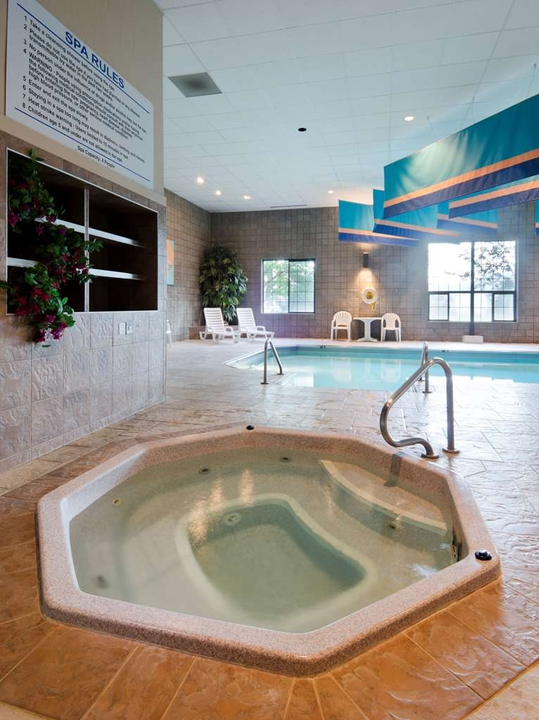 Best Western Plus Butte Plaza Inn - chaud baignoire