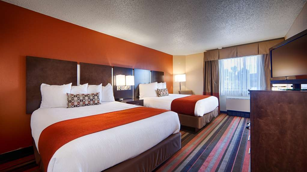 Best Western Plus Butte Plaza Inn - Two Queen Bed Guest Room