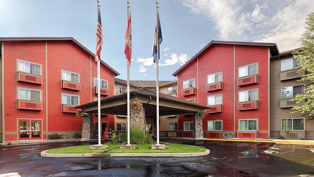 Best Western Rocky Mountain Lodge - Area esterna