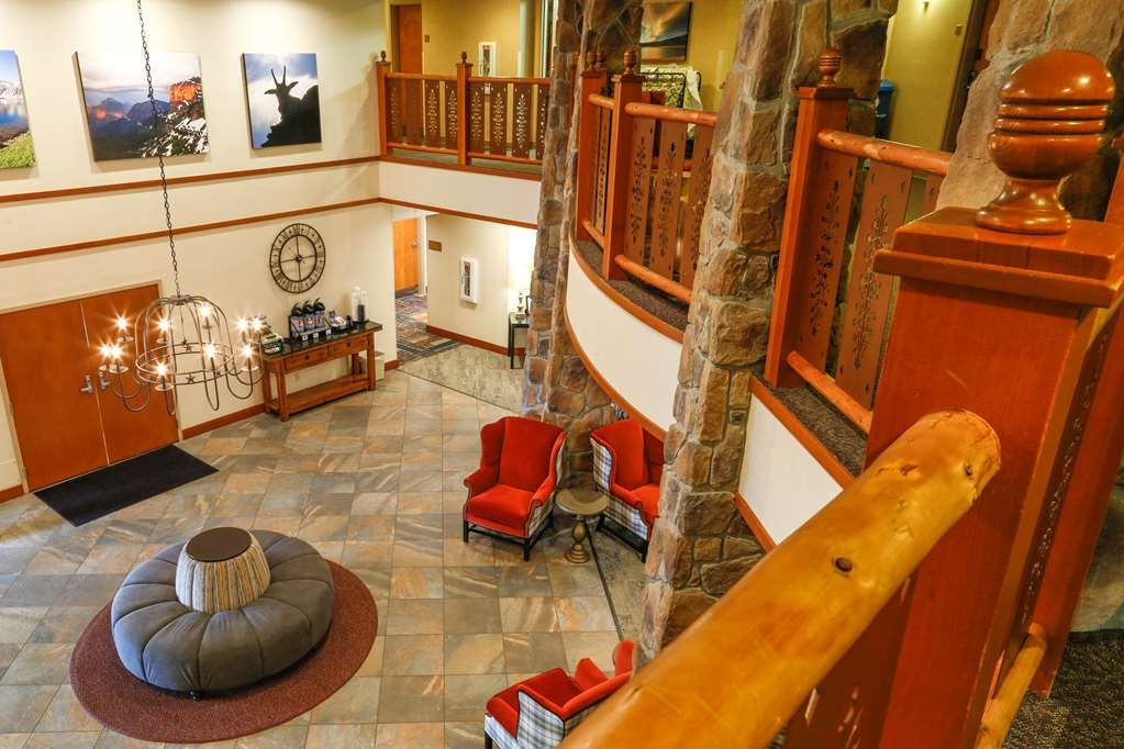 Best Western Rocky Mountain Lodge - empfang