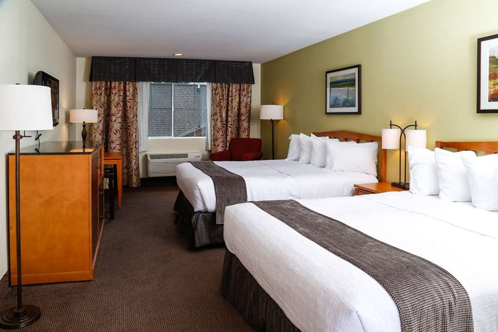 Best Western Rocky Mountain Lodge - Standard Double Queen Guest Room