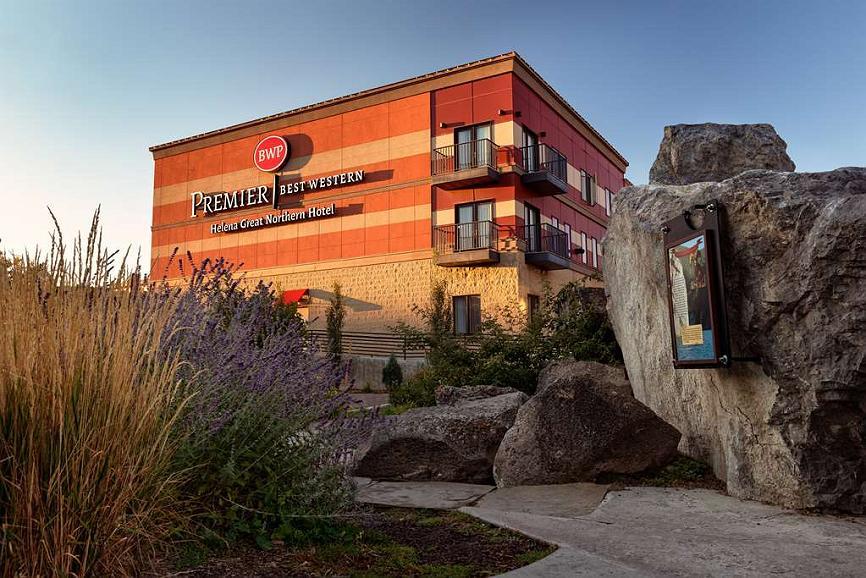 Best Western Premier Helena Great Northern Hotel - Aussenansicht