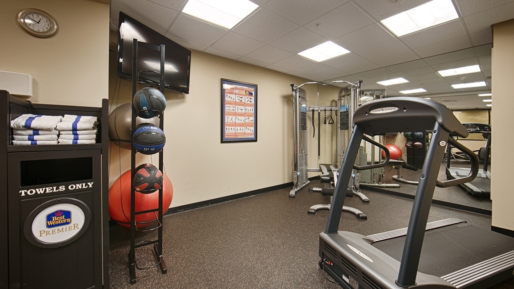 Best Western Premier Helena Great Northern Hotel - Sala fitness