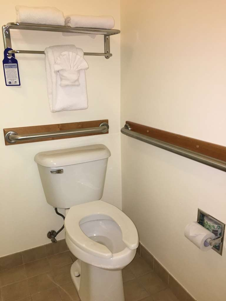 Best Western Yellowstone Crossing - Mobility Accessible Bathroom