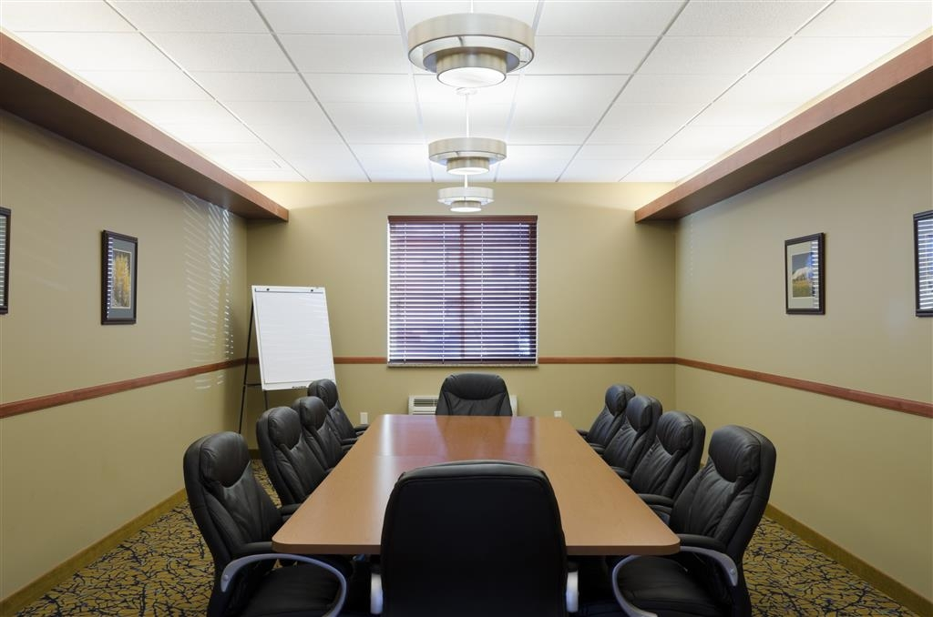 Best Western Golden Prairie Inn & Suites - If interested in our boardroom, please contact management for pricing and set up options. We also have great catering options!