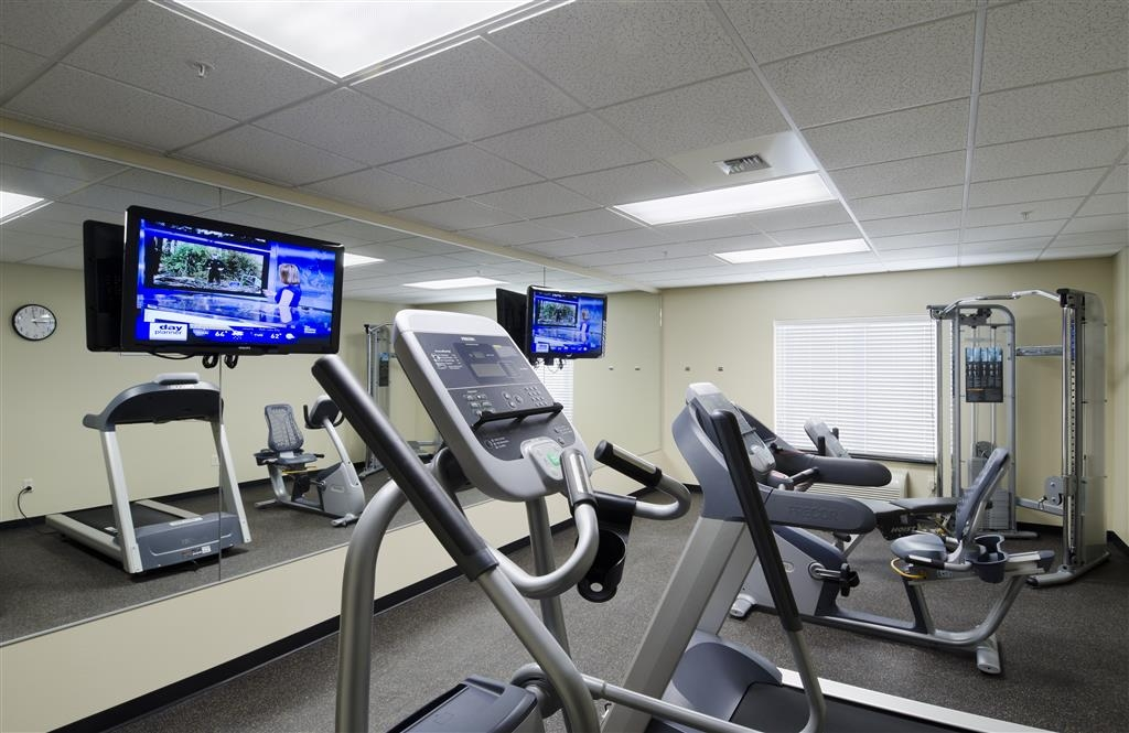 Best Western Shelby Inn & Suites - exercise chambre