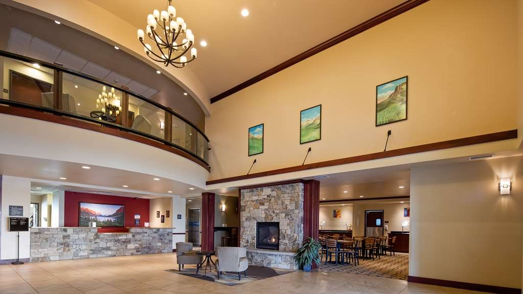 Best Western Shelby Inn & Suites - Vue du lobby