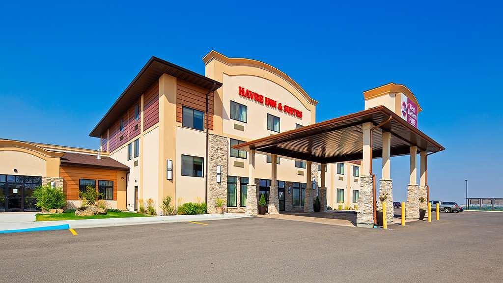 Best Western Plus Havre Inn & Suites - Aussenansicht