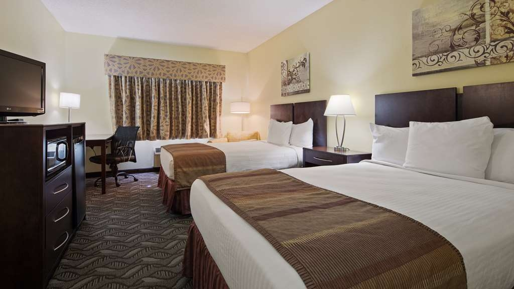 Best Western Nebraska City Inn - Two XL Full Guest Room
