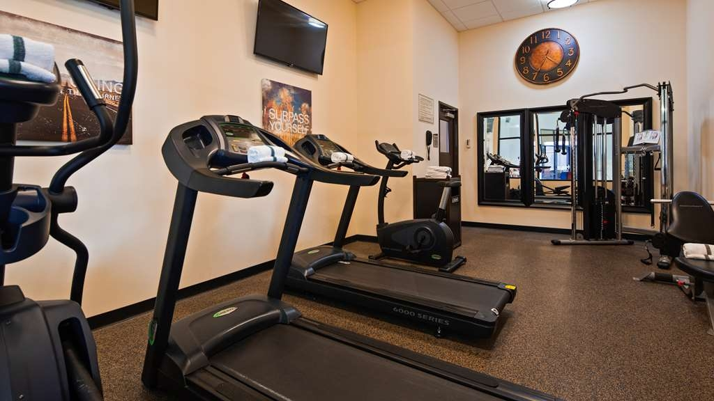 Best Western Plus North Platte Inn & Suites - Get active with a visit to our fitness center.
