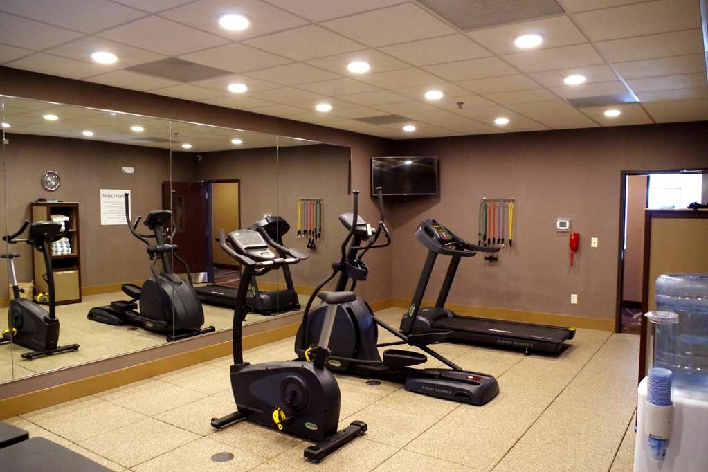 Best Western Plus Lincoln Inn & Suites - fitnessraum