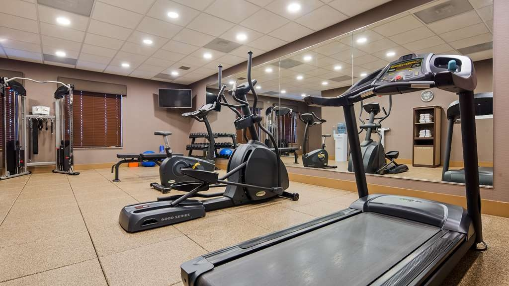 Best Western Plus Lincoln Inn & Suites - Fitnessstudio