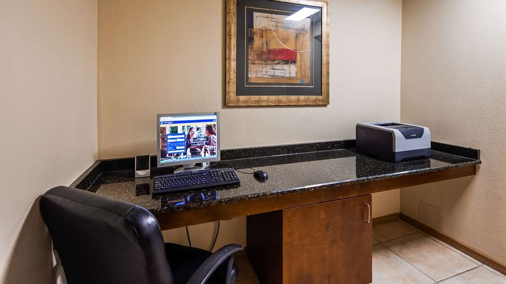 Best Western Topaz Lake Inn - Business center