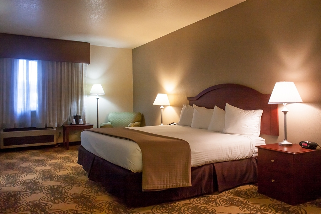 Best Western Elko Inn - Our standard king guest room has all you will need for a relaxing stay.