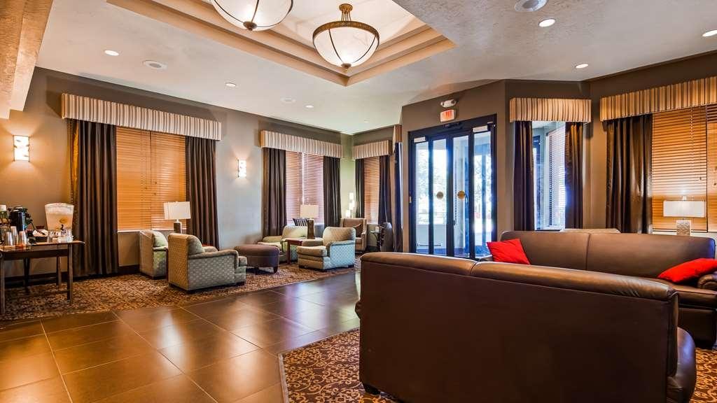 Best Western Elko Inn - Vista del vestíbulo