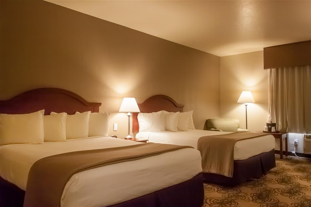 Best Western Elko Inn - Need extra space for your family? Book our two queen bed oversized room today.