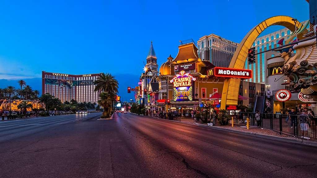 Best Western Plus Casino Royale – Center Strip - Area esterna