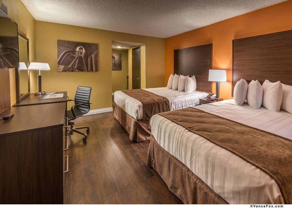 Best Western Hoover Dam Hotel - Our well appointed Standard Guest Room with two queen size beds.