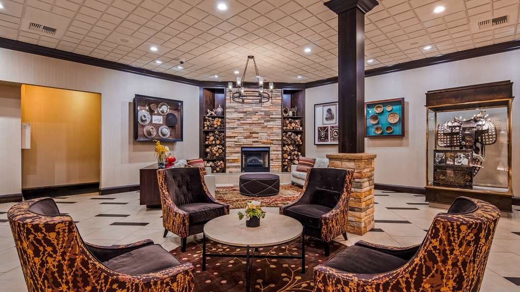 Best Western Plus Boomtown Casino Hotel - Vista del vestíbulo